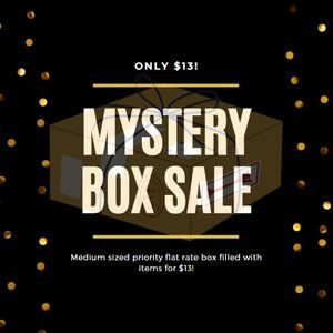 MYSTERY BOX FOR $13!